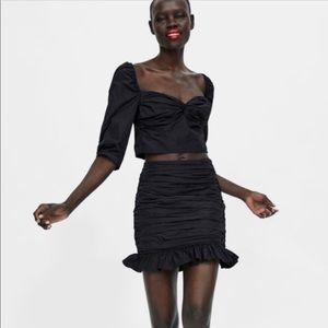 Zara Ruched Skirt